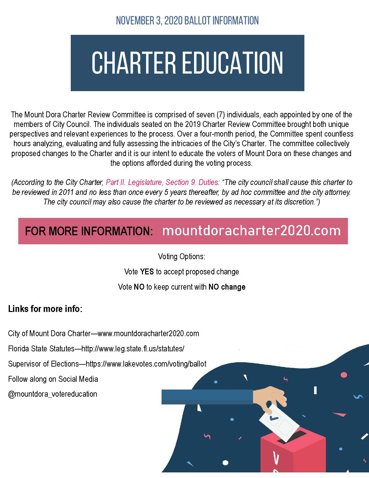 Charter Referendum FLYER