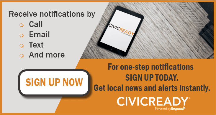 Sign up for civic ready