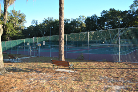 Lincoln Park Lincoln Avenue Tennis Courts