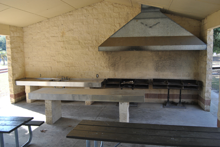 Cauley Lott Park Pavilion Kitchen