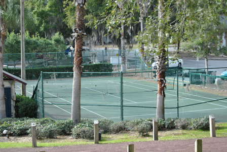 Donnelly Park Tennis Court