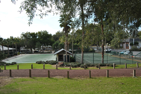 Donnelly Park Tennis and Shuffle Board Courts