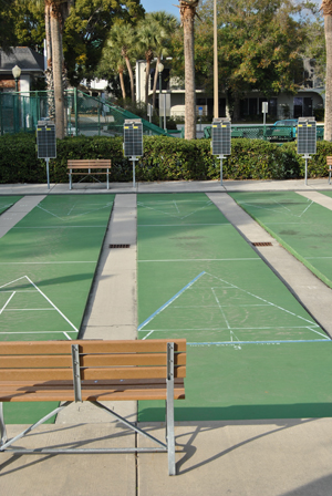 Donnelly Park Shuffle Board Courts