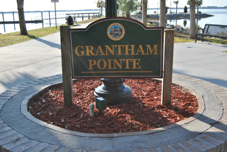 Grantham Point Sign